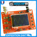 JYETech JYE DSO 138 DIY KIT Open Source 2.4″ TFT 1Msps Digital Oscilloscope Kit