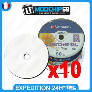 10 Verbatim DVD DL