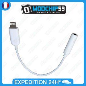 ADAPTATEUR Lightning jack iPhone 7 - chargeur