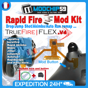 TrueFire FLEX rapid fire ps4
