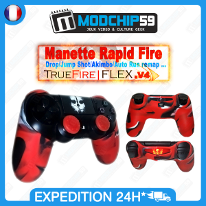 manette rapid fire ps4 manette ps4 custom