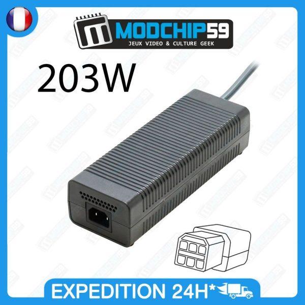 PSU-power-Alimentation-Secteur-XBox-360-FAT-Hybride-PUISSANTE-203W-262761352917