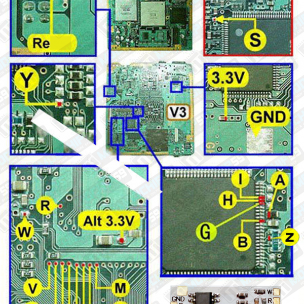 matrix infinity diagram v3 SCPH-3000X SCPH-3500X