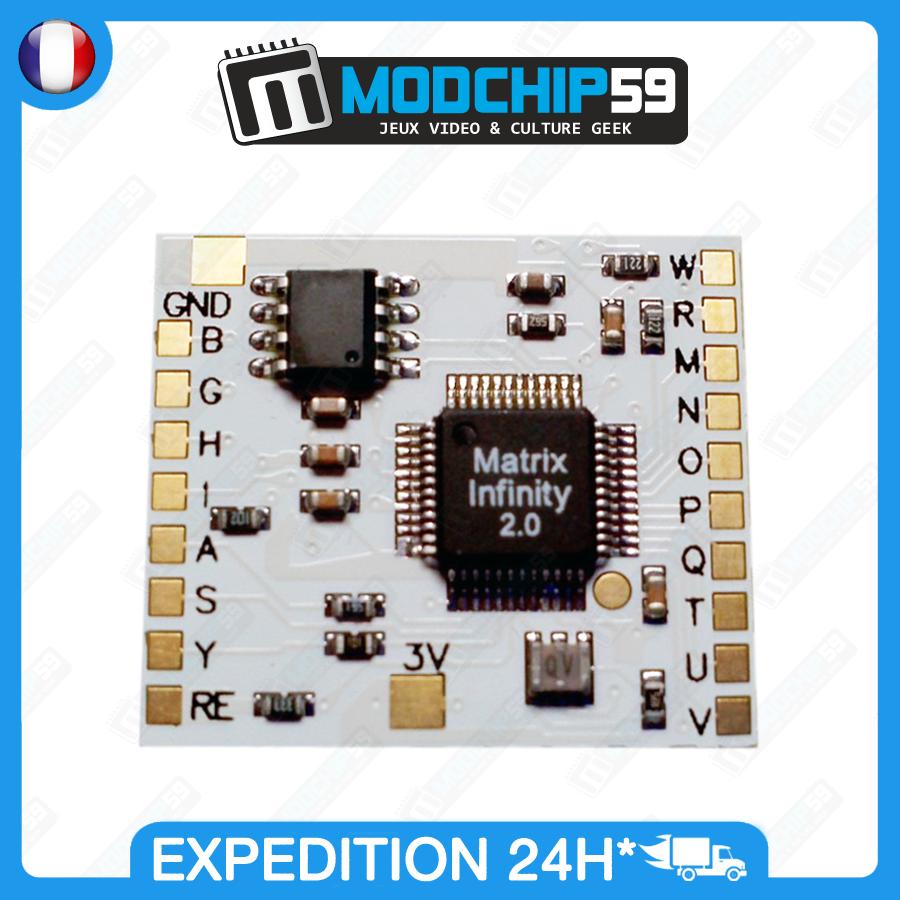 Boutique Modchip59 Puce Matrix Infinity Ps2 Version 20 Playstation 2 Circuit Diagram