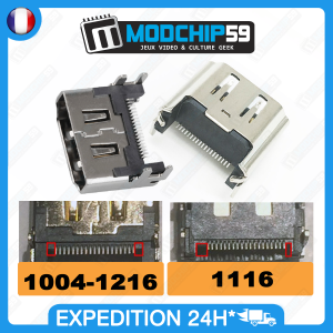 Port connecteur pièce remplacement réparation HDMI ps4