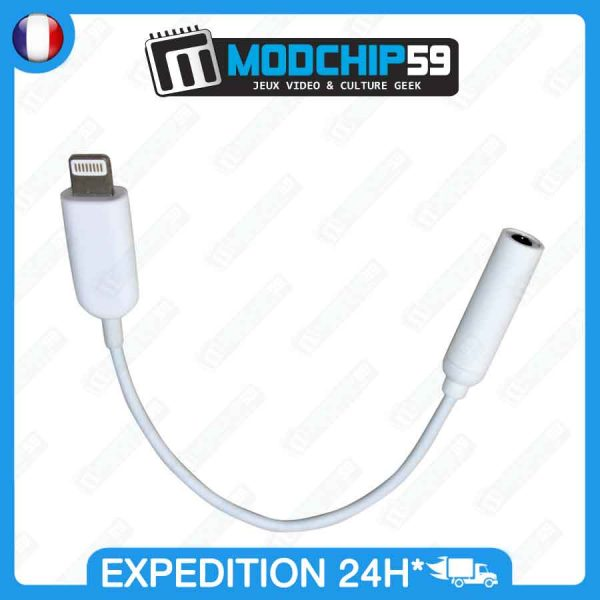 ADAPTATEUR Lightning jack iPhone 7