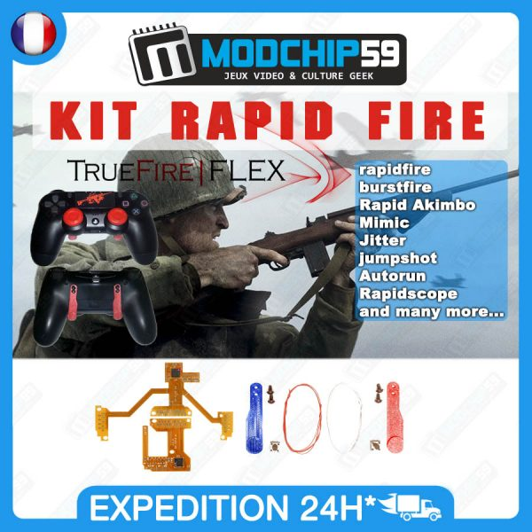 TrueFire FLEX v4.1 v5 rapid fire ps4 Mods chip Kit remapper
