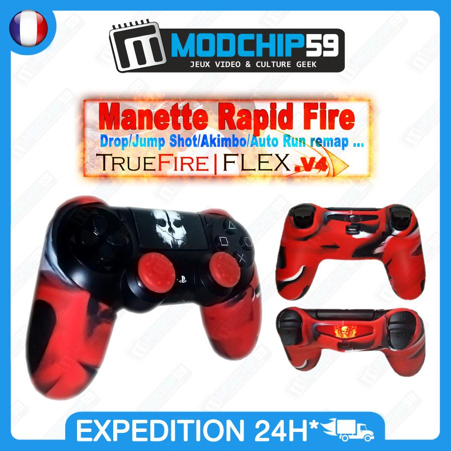 manette rapid fire ps4 manette ps4 custom truefire. Black Bedroom Furniture Sets. Home Design Ideas