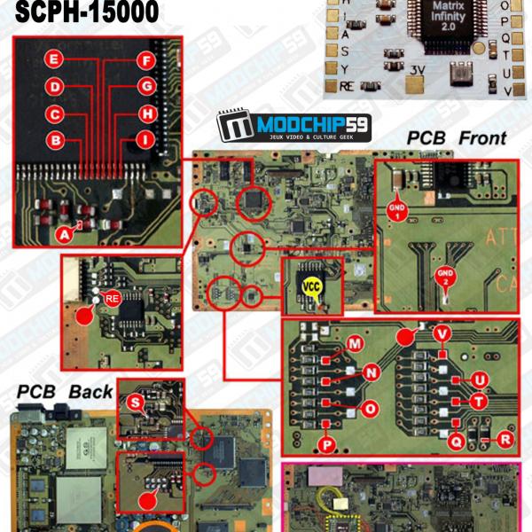 matrix infinity diagram v0 SCPH-10000 SCPH-15000