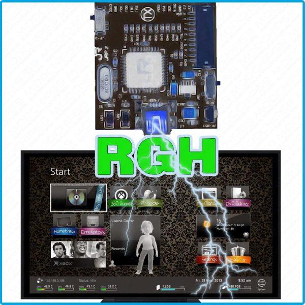 Service installation hack jtag RGH xbox 360 mods crack