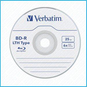 blue ray blu ray cd dvd bluray vierges Verbatim x6 25 Go LTH BD-R