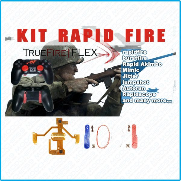 TrueFire FLEX v4.1 v5 rapid fire ps4 Mods chip Kit