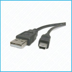 CABLE ADAPTATEUR USB 2.0 A MALE VERS MINI-B 5 PIN MALE NEUF 83 cm