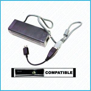 KIT PSU power Alimentation Secteur XBox 360 SLIM FAT Hybride PUISSANTE 150W-203W