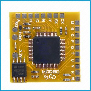 Carte Matrix Infinity modbo 5.0 pour flash PS2 usb loader de développement
