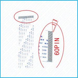 Nappe FFC Flat 60 pins