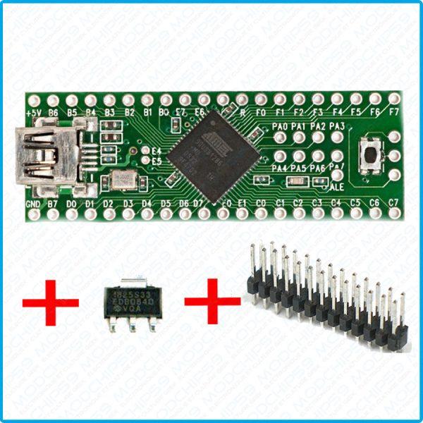 Teensy 2.0 ++ USB AVR PCB carte de développement Arduino ISP AT90USB1286 moins cher que teensy 3.6