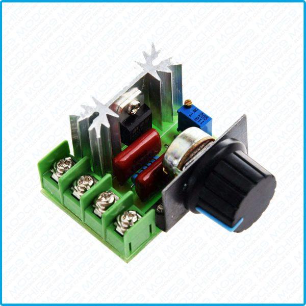 Variateur de vitesse moteur Dimmer AC 220 V 2000 W SCR Regulateur De Tension Voltage