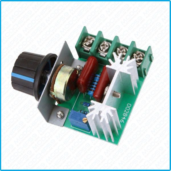 Variateur de vitesse moteur Dimmer AC 220 V 2000 W SCR Regulateur De Tension Voltage