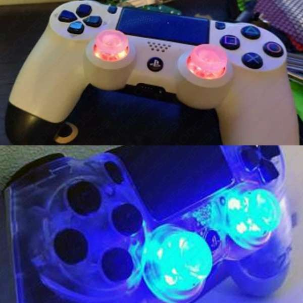 Kit joysticks avec Leds colorés