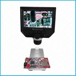 mini microscope lcd électronique usb digital 3.6MP 600x avec écran