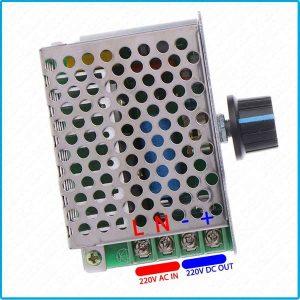 variateur de vitesse pwm régulateur moteur AC vers DC 220V 10A